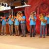 Die Kleinformation am Rosenfest in Weggis