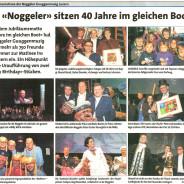 Unsere Matinée im Anzeiger vom 9. Februar 2011