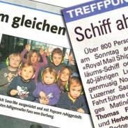 Die Noggeler-Matinée 2011 in der Presse: Korrekturen!