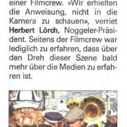 Unser Stef zusammen mit Carlos Leal in der Neuen Luzerner Zeitung