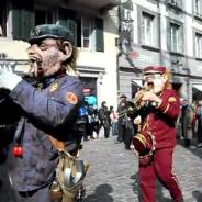 Die Noggeler in der Altstadt von Luzern