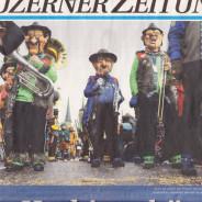 Die Nummer 1 auf der Titelseite der NLZ … schneller geht's nicht mehr!