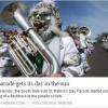 """Die """"South Side Irish Parade"""" in der Chicago Tribune"""