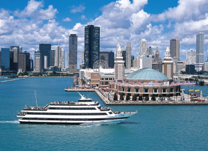 Navy Pier - Spirit of Chicago - Lake Michigan