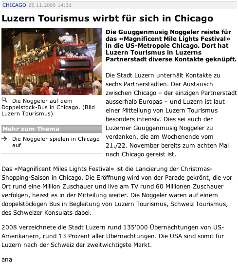 Gesehen auf www.zisch.ch am 25.11.2009 um 14.31 Uhr
