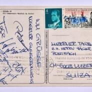 Eine Trouvaille aus vergangenen Tagen – Wir schreiben auch Postkarten!