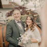 Wir gratulieren Andrea und Marco zur Hochzeit!