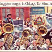 20Minuten berichtet über die bevorstehende Reise der Noggeler