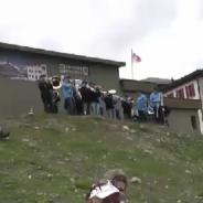 Die Kleinformation am Bergmarathon in Zermatt