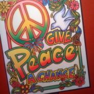 Unser Quasi-Stammlokal ist dekoriert, es leben die Hippies!