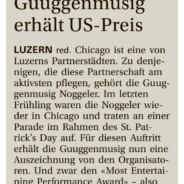 Neue Luzerner Zeitung vom 11. Januar 2016